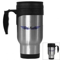 Susi Hawke Steel Travel Mug