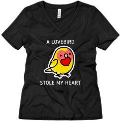 Lovebird Heart Shirt