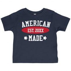 Custom American Made Toddler