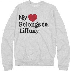 Heart belongs to Tiffany