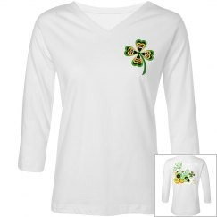 Irish for a day, long sleeve top