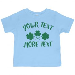 Customizable Shamrock Design