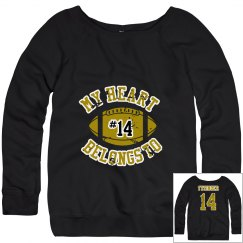 Mom's Football Sweatshirt