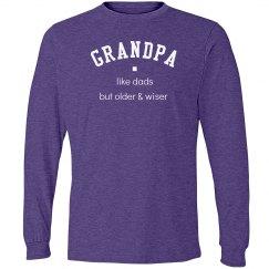 Grandpa older & wiser