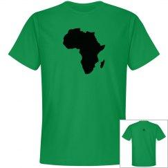 Africa Tee- Blk