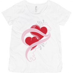 Hearts Maternity Shitt