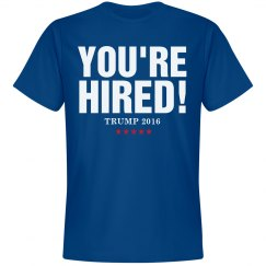 Trump 2016 You're Hired