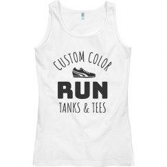 Custom Color Run Tank