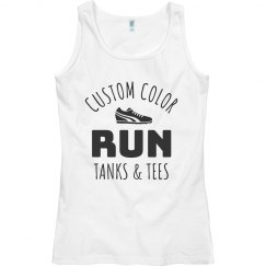 Custom Color Run Tank