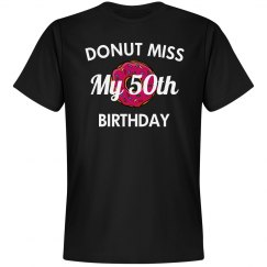 Donut miss my birthday