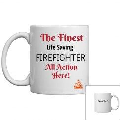 Life saving firefighter