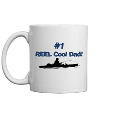 REEL Cool Dad mug 2 - blue