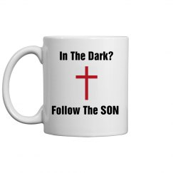 In dark, follow the son