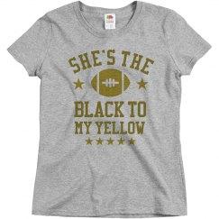 The Black To My Yellow Besties