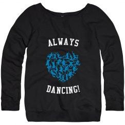 AD! Wideneck Sweatshirt