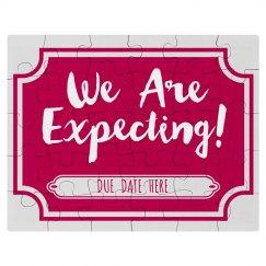 We're Expecting! Custom Puzzle