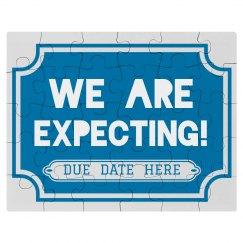 Custom Expecting Due Date Puzzle