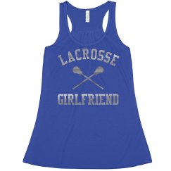 Cute Metallic Lacrosse Girlfriend