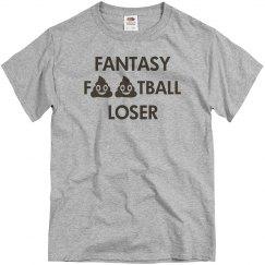 Fantasy Football Poop Emoji Loser