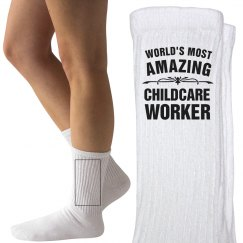 Amazing childcare worker