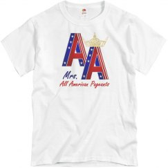 Mrs. All American Pageants Shirt