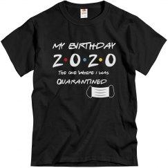quarantined birthday