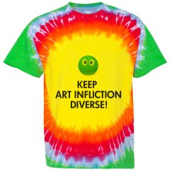Keep Art Infliction Diverse Shirt