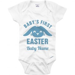 Custom Name First Easter Onesie