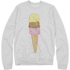 Ice Cream Swim Pullover