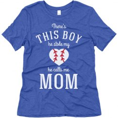 Baseball Mom He Stole My Heart