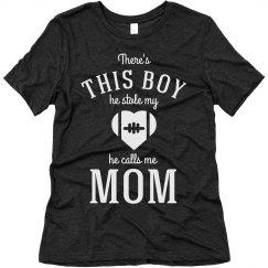 Football Mom He Stole My Heart