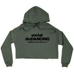 Social DisDANCING Cropped Hoodie