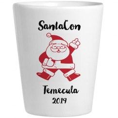 SantaCon shotglass 2019