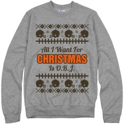 Football Ugly Sweater Odell