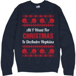 Football Ugly Sweater D. Hopkins