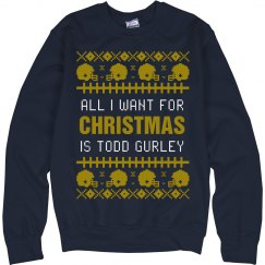 Football Ugly Sweater T. Gurley