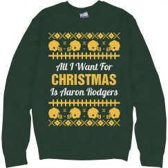 Football Ugly Sweater A. Rodgers