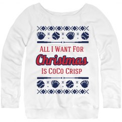 Baseball Ugly Sweater Crisp Fan