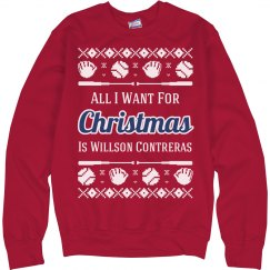 Cute Contreras Baseball Ugly Sweater