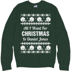 Football Ugly Sweater E. Decker
