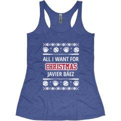 Báez Love Ugly Baseball Design