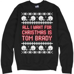 Favorite Football Player Ugly Sweater