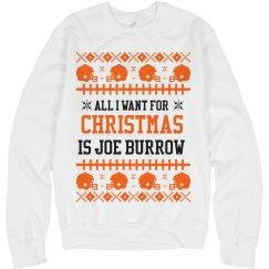 Mrs. Burrow Ugly Sweater