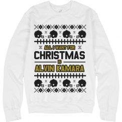 Alvin Kamara Ugly Christmas Sweater