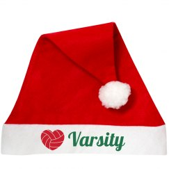 Varsity Volleyball Santa Hats for School