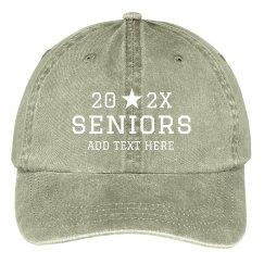 Seniors Custom Baseball Cap