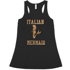 Italian Mermaid crop top!