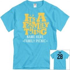 Family Thing Picnic
