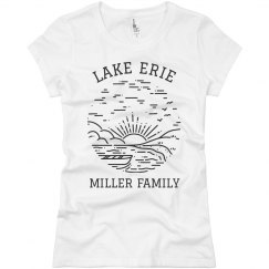 Family Lake Trip Custom Trendy Tees