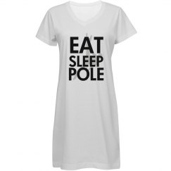 Eat.Sleep.Pole Gown